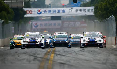 CTCC第七站武汉街道赛 世界冠军荷夫霸气夺冠